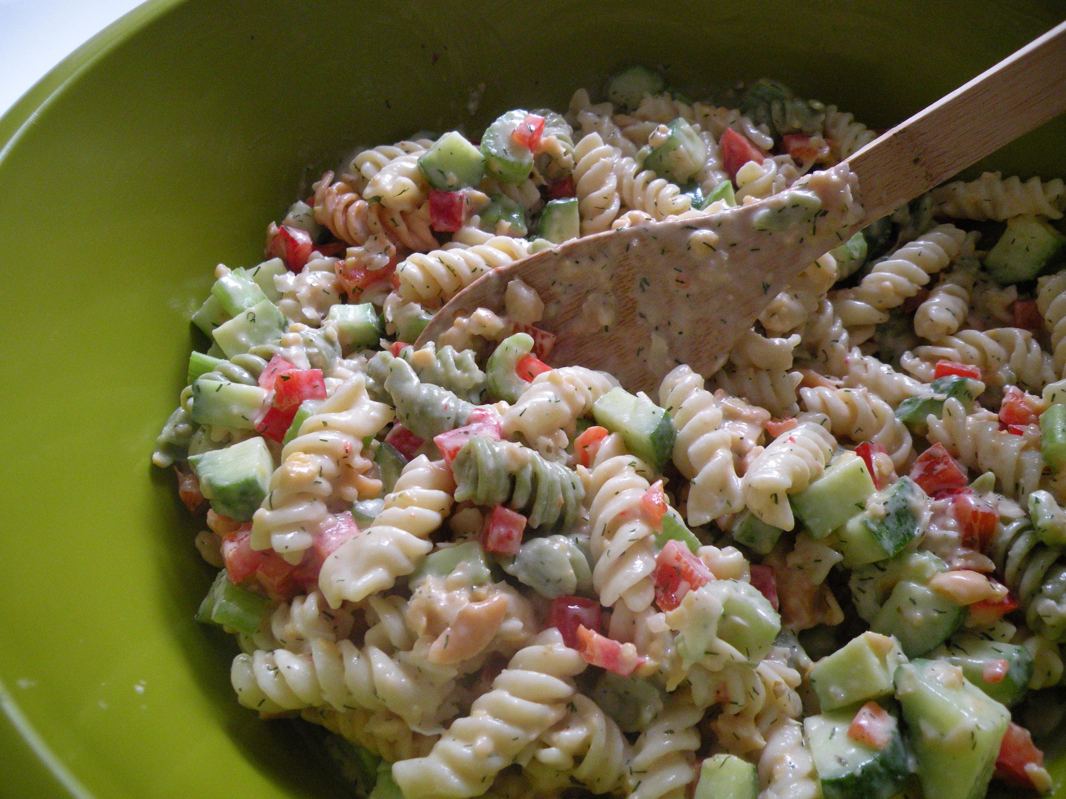 Best Pasta Salad EVER. | Vegan Devotee
